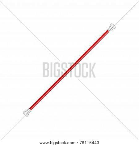 Twirling baton