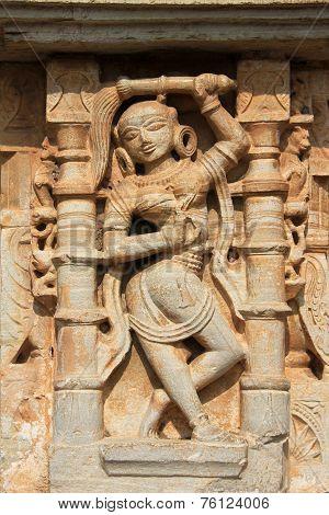 Sculpture Of Maid Servant