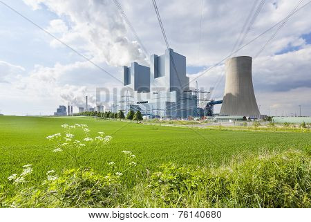 Power Station And Field