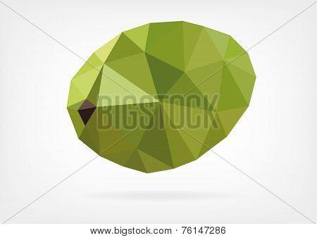 Low Poly Breadfruit