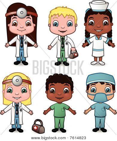 Doctor and Nurse Children set 1