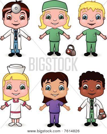 Doctor and Nurse Children set 2