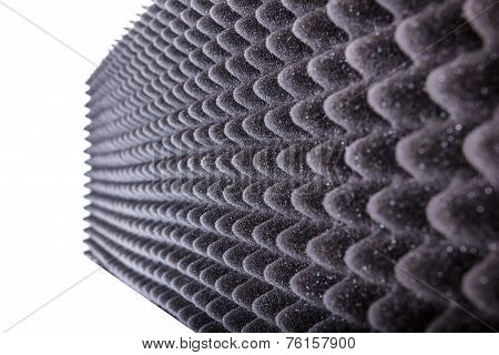Microfiber Insulation For Noise In Music Studio Or Acoustic Halls Or Houses , Professional Studio In