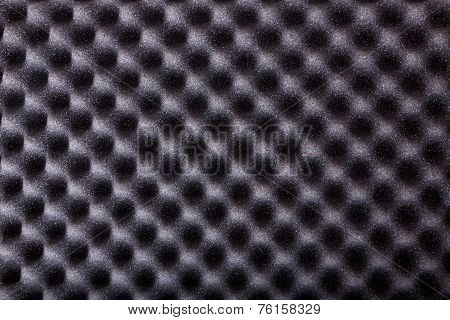 Texture Of Microfiber Insulation For Noise In Music Studio Or Acoustic Halls