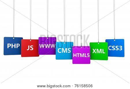 Webdesign Internet Concept