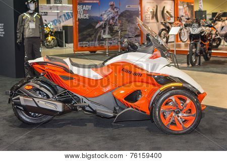 Can-am Spyder St 2015 Motorcycle