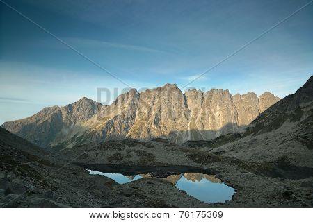 High Tatra Mountains at dawn