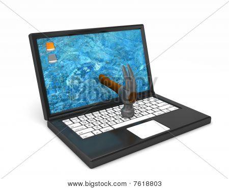 Computer Hammered