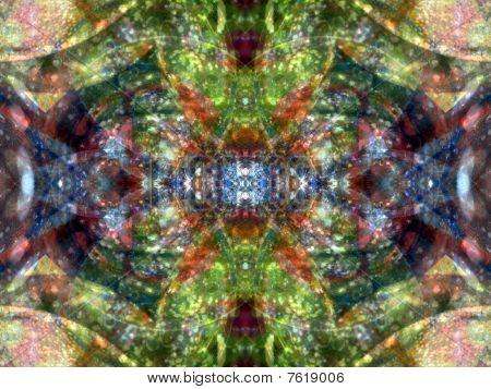 Green Glass Orb
