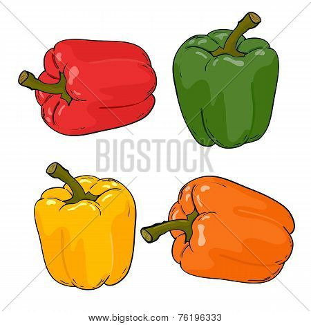 Vector peppers