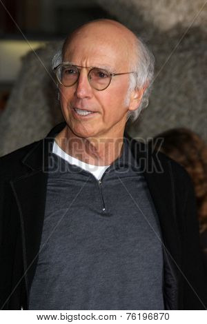 LOS ANGELES - NOV 3:  Larry David at the Dumb and Dumber To Premiere at the Village Theater on November 3, 2014 in Los Angeles, CA