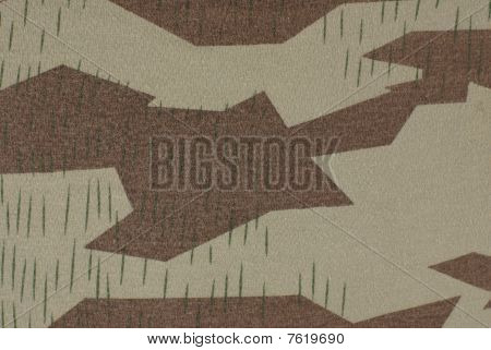A wehrmacht camouflage fabric world war two poster