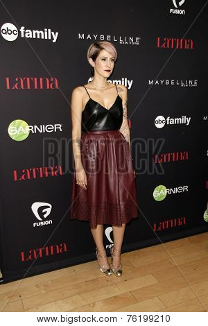 LOS ANGELES - NOV 13:  Dev at the Latina Magazine's '30 Under 30' Party at the Mondrian Hotel on November 13, 2014 in West Hollywood, CA