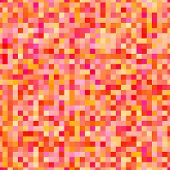 Vector pixel background in 8-bit style, digital seamless pattern poster