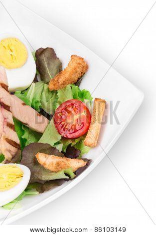 Beautiful caesar salad