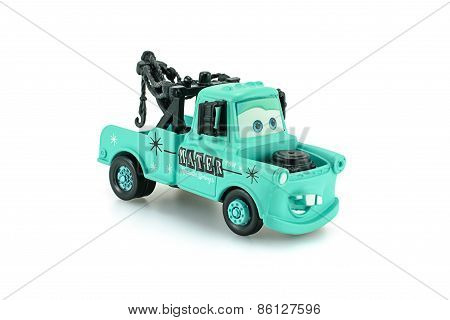 Tow Mater Light Baby Blue Color Toy Car