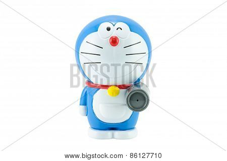 Doraemon A Blue Robot Cat A Main Protagonist Of Doraemon Japanes Animation Cartoon.
