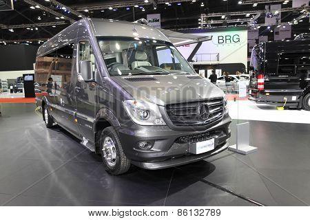 BANGKOK - MARCH 25: Mercedes benz modify car by airstream on display at The 36 th Bangkok Internatio