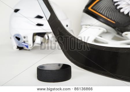 Hockey Gear Landscape Image