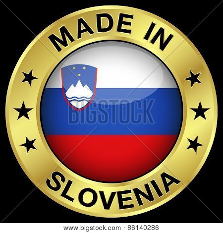 Slovenia Made In Badge