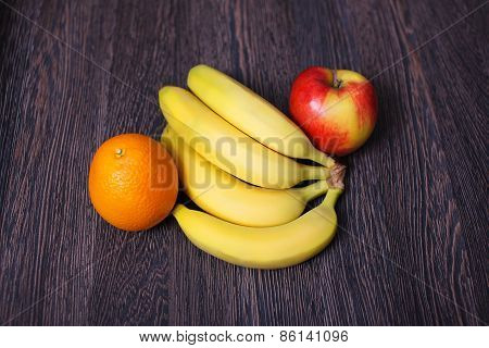 Fruit variety on table