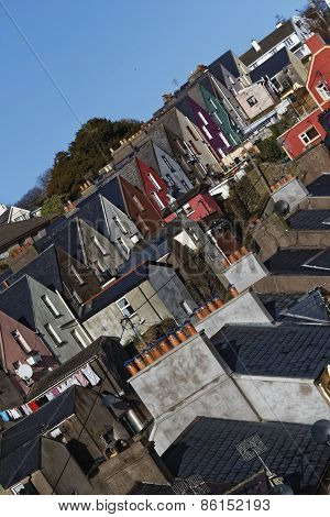 Old Street In Cobh