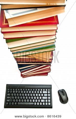 Books And Keyboard
