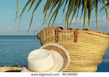 Close Up Beach Bag