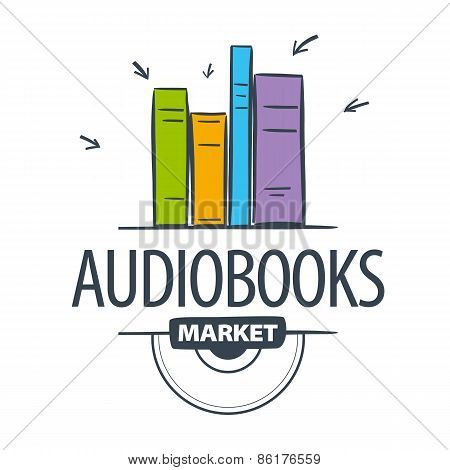 Vector Icon Audiobook, Books Attacked Cursors