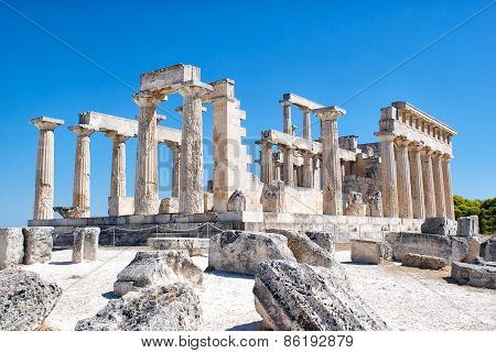 The Ruins Of The Antic Temple.