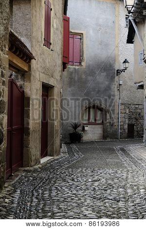 Rustic Alley At Beaulieu-sur-dordogne
