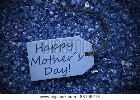 Purple Stones With Label Happy Mothers Day