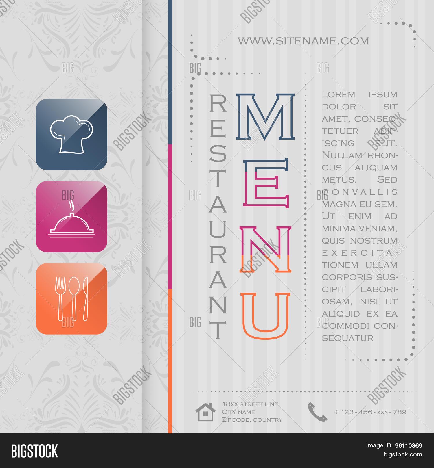 Elegant Restaurant Vector Photo Free Trial Bigstock