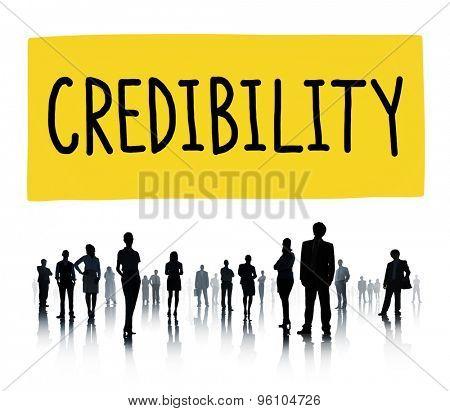 Credibility Partnership Determination Inspiration Concept