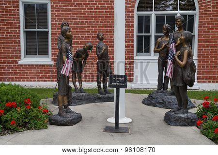 The Patriots Sculpture