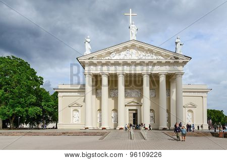 Cathedral Of St. Stanislaus And St. Vladislav In Vilnius