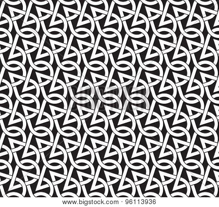 Seamless pattern of intersecting drops