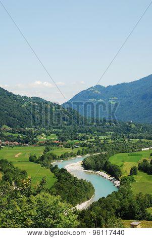 Soca Valley Near Kobarid
