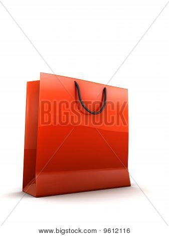 shopping bag illustration