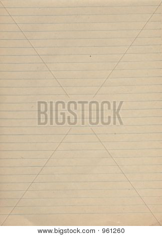 School Note-Book Paper