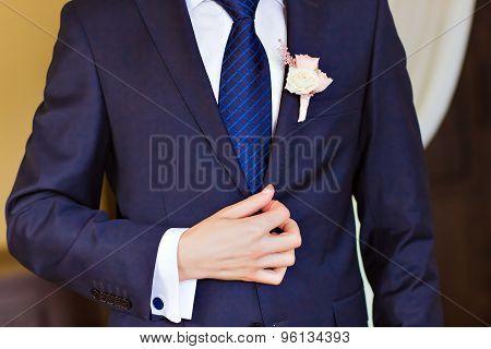 dressed man