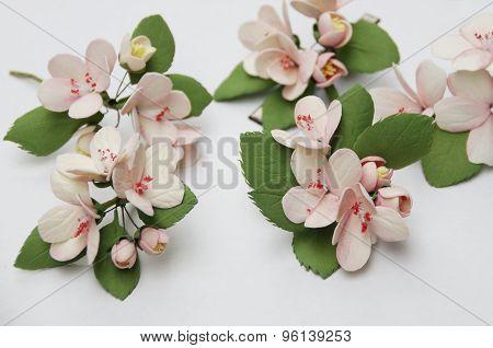 flowers from foam