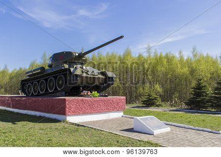 The legendary T-34 tank