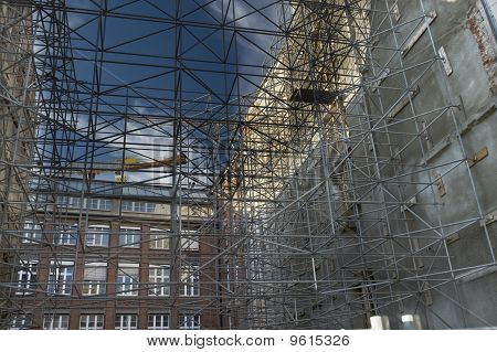3-d Net Of The Scaffold