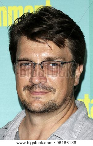 SAN DIEGO - JUL 11:  Nathan Fillion at the Entertainment Weekly's Annual Comic-Con Party at the FLOAT at The Hard Rock Hotel  on July 11, 2015 in San Diego, CA