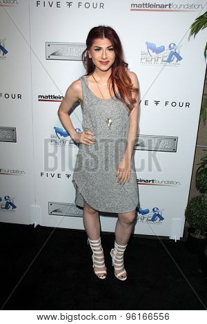 SAN DIEGO - JUL 16:  Alexa Ferr at the 9th Annual Celebrity Bowl for Charity at the Lucky Strike on July 16, 2015 in Los Angeles, CA
