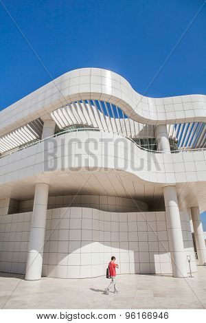 LOS ANGELES - JUNE 1: The J. Paul Getty Museum, commonly referred to as the Getty, is an art museum