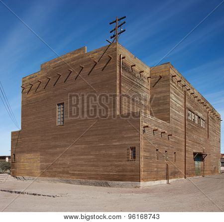 Theatre at Humberstone Saltpeter Works