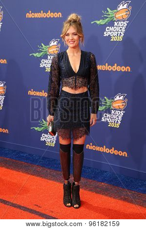 LOS ANGELES - JUL 16:  Amy Purdy at the 2015 Kids' Choice Sports at the UCLA's Pauley Pavilion on July 16, 2015 in Westwood, CA