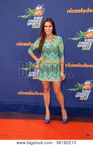 LOS ANGELES - JUL 16:  Rosa Blasi at the 2015 Kids' Choice Sports at the UCLA's Pauley Pavilion on July 16, 2015 in Westwood, CA